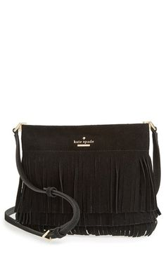 c4a7c4392a8 kate spade new york  sycamore run - cristi  suede fringe crossbody bag  available at
