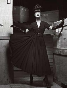 Numéro china abril 2013  Du Juan en Dior  Fotografía: Yin Chao  Estilismo: Joseph Carle