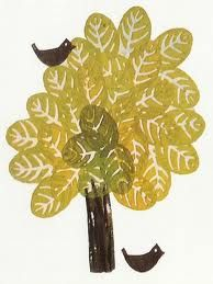 Potato print tree