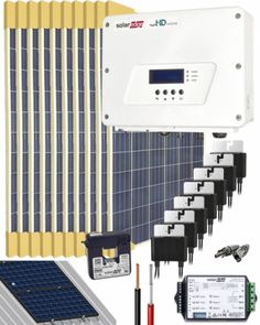 Kit Conexión Red SolarEdge 3000W 16500Whdia Monofásico Kit Solar, La Red, Bathroom, Washroom, Bathrooms, Bath