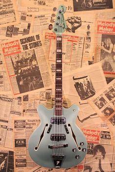 "Fender USA 1967 Coronado Bass II ""Original Ice Blue Metallic"""