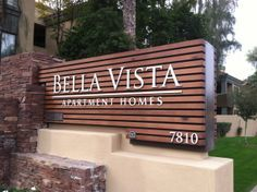 modern apartment signs - Google Search
