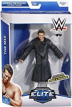 WWE Elite Series 37 The Miz with Entrance Robe and Shades Wave #37 in Toys & Hobbies, Action Figures, Sports | eBay