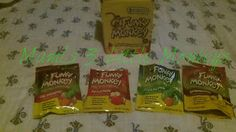 Enter to #win a sampler pack of Funky Monkey Snacks! US 1/31