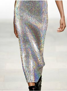 opalescent skirt- fab