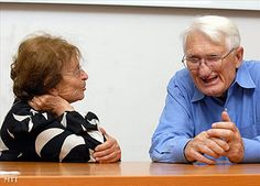 Agnes Heller with Jurgen Habermas, photographed (by Francis Kalmandy) at a conference in 2009.