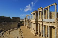 Mérida's Roman theatre has stood for over 2000 years and is still used for performances today. ©