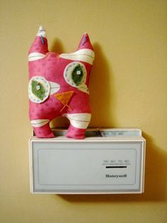Mr. Ugly-Cat Cat Toy - I love this in a odd and quirky way.