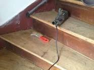 Comment fabriquer un echafaudage pour escalier recherche for Decaper un meuble vernis