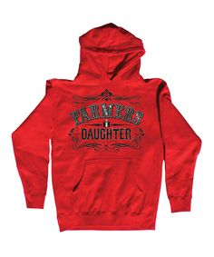 International Harvester Red 'Farmers Daughter' Hoodie - Women by International Harvester #zulily #zulilyfinds