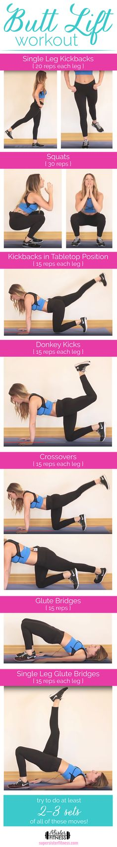 Lift Your Booty Workout