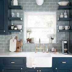 Budget Kitchen Remodel, Galley Kitchen Remodel, Kitchen On A Budget, New Kitchen, Kitchen Decor, Kitchen Ideas, Kitchen Inspiration, Kitchen Art, Kitchen Sink