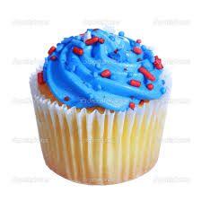 Resultado de imagem para muffins azuis