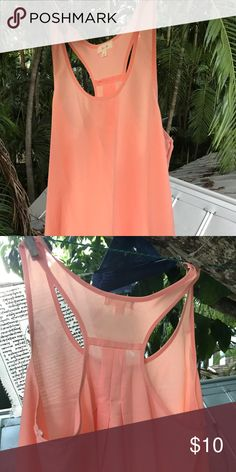 Sheer Pink Top Sheer pink top. Perfect for over a cute bralette. Tops