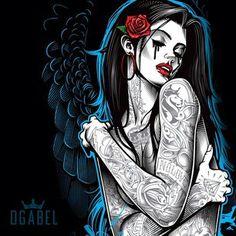 Day Of The Dead CHARRA Sombrero Mexico Art NEW Juniors T-Shirt S,M.L.XL Black