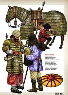 Klibanophoroi, Xth Century