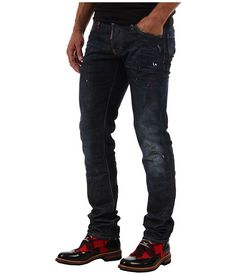 DSQUARED2 Comfort Denim Slim Jean
