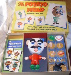 Yes...Sadly I'm old enough to remember Mr Potato Head when you used a REAL potato!