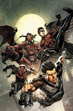 alcaantaraas:  Batman & Robin Eternal #22-23 covers by Carlo Pagulayan............!!!!