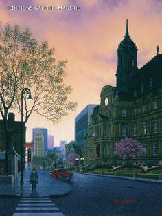 Sunrise in Old Montreal ~ by Denis Nolet