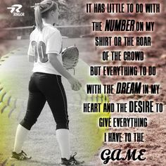 Sports quotes, sports softball, quotes about softball players, softball Softball Memes, Softball Problems, Softball Cleats, Girls Softball, Fastpitch Softball, Softball Players, Softball Stuff, Softball Things, Softball Room
