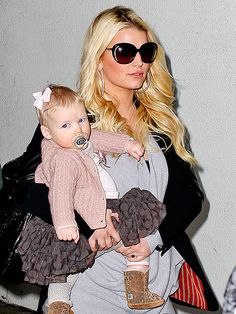 Little cardigan from Jessica Simpson's daughter Maxwell