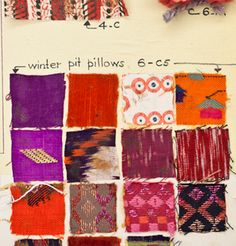 Fashion inspiration board sketchbooks fabric swatches Ideas for 2019 Textile Patterns, Textile Design, Textile Art, Color Patterns, Print Patterns, Textiles Sketchbook, Sketchbook Ideas, Miller Homes, Farm House Colors