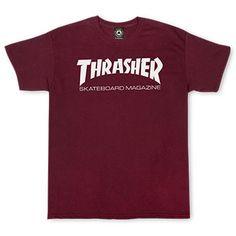 Thrasher Skate Mag T-Shirt Maroon