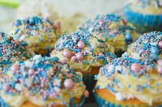 Cosmic Unicorn Cupcakes ♥