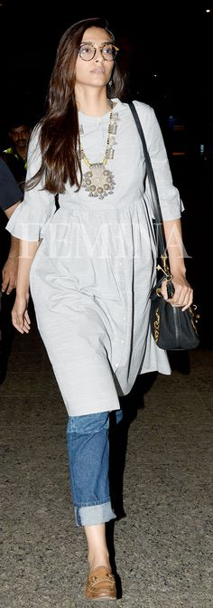 Sonam Kapoor likes to keep it simple and chic