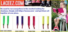 Tying your #kids #shoe #laces every now and then can be annoying. However, the #no-tie shoe laces offered by https://laceez.com/  can help you get rid of all this.