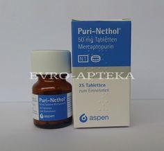 Пуринетол купить в Москве - Пуринетол цена - Заказать лекарства Пуринетол - Доставка лекарств Меркаптопурин 50 мг из Германии - Немецкая аптека