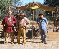 2015 Manzanita Rendezvous, Campo, CA (the 'Orange Guys') Mountain Man Rendezvous, Trek Movie, Longhunter, Native American Images, Fur Trade, American Frontier, Manzanita, Wild West, Rocky Mountains