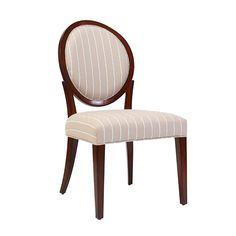 餐椅 楸木框架+布艺软包 蕴系列 W510*D616*H1013 mm
