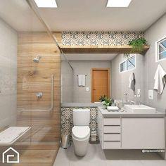 Uma boa noite com inspiração linda de banheiro! A composição de revestimentos conta com amadeirado e o ladrilho mediterrâneo da @ceusarevestimentos. O projeto é de @espacoconcreto. Gostaram? Marque seu amigo(a). . . Confira: @obraeestilo . . → Usem a #grupojsmais e tenha seus projetos nos perfis do @grupojsmais. ⠀ ▸@decoremesmo ▸ @design_do_dia ▸@hedinapauli ▸ @espacos.decorados ▸@decoredecor ▸ @obraeestilo ▸ @decorcriative ▸@euteinspiro ▸@carolcantelli_interiores ⠀ Somos…