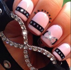 70 trendy nail Art ideas for summer 2015 Great Nails, Fabulous Nails, Cute Nails, Nail Polish Designs, Nail Art Designs, Hair And Nails, My Nails, Infinity Nails, Crazy Nails