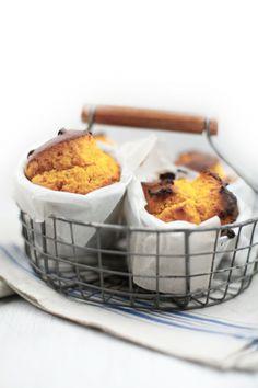 Muffin di zucca e gorgonzola ::: pumpkin
