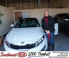 #HappyBirthday to Susan Slater from James Adams at Southwest Kia Dallas!