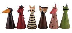 Garden Animals, Sculpture, Garden Ornaments, Ceramic Pottery, Decorative Bells, Renaissance, Hobbit, Fantasy, Handmade