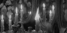 Gothic Aesthetic, Aesthetic Gif, Character Aesthetic, Aesthetic Pictures, Black And White Gif, Black And White Aesthetic, Black And White Drawing, Fire Candle, Candle In The Wind