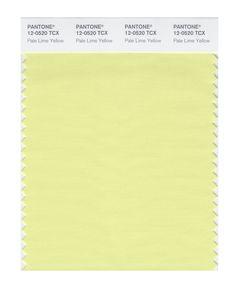 Pantone Smart Swatch 12-0520 Pale Lime Yellow