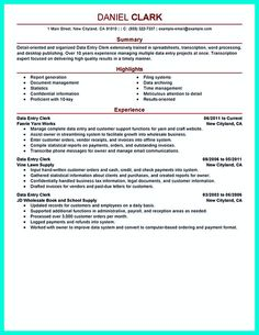 Data Entry Job Description For Resume data entry job description for resume Your Data Entry Resume Is The Essential Marketing Key To Get The Job You Seek