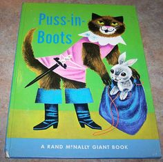 Rand McNally Giant Book Puss-In-Boots.