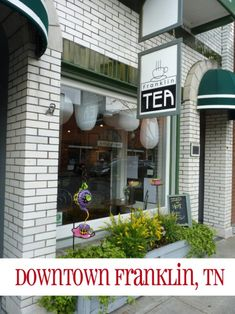 A day in Downtown Franklin Tennessee. Such a fun little city! Check it out the next time you travel to the Nashville area