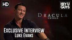 Luke Evans Interview - Dracula Untold (HD)