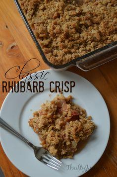 This Classic Rhubarb