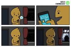 Safely Endangered Comics That Will Make You Laugh Out Loud Funny Cartoons, Funny Comics, Funny Images, Funny Pictures, Safely Endangered, Funny Comic Strips, Online Comics, Funny Art, Funny Posts