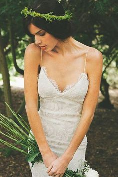 Copy of Simple A-Line Open Back Wedding Dresses,Tulle Wedding Party Gowns, SW30