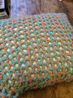 The other side of the granny pillow