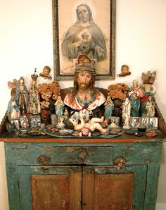 Laurie Beth Zuckerman: LAURIE BETH ZUCKERMAN'S HOME ALTAR TO HER LATE FATHER, GEORGE ZUCKERMAN